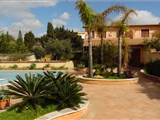 Delicius group of villas on the beach of the splendid Ulisse's Bay, St. Leone, Agrigento Sicily